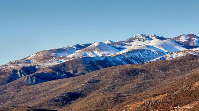 Grobničke Alpe pod snijegom