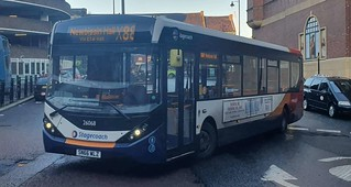 Stagecoach North East ADL Enviro200 MMC SN66 WLZ seen at Eldon Square with Lee Armstrong at the wheel