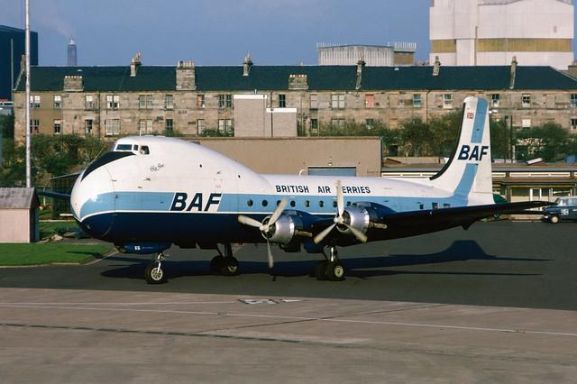 G-ASKG Douglas ATL-98 Carvair EGPF 1974