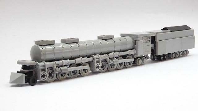 Small Lego Union Pacific Big Boy (MOC - 4K)