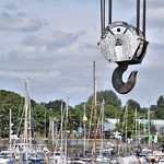 Boat hook at Preston Docks