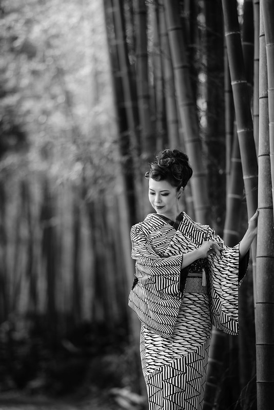 The beauty of bamboo forest.