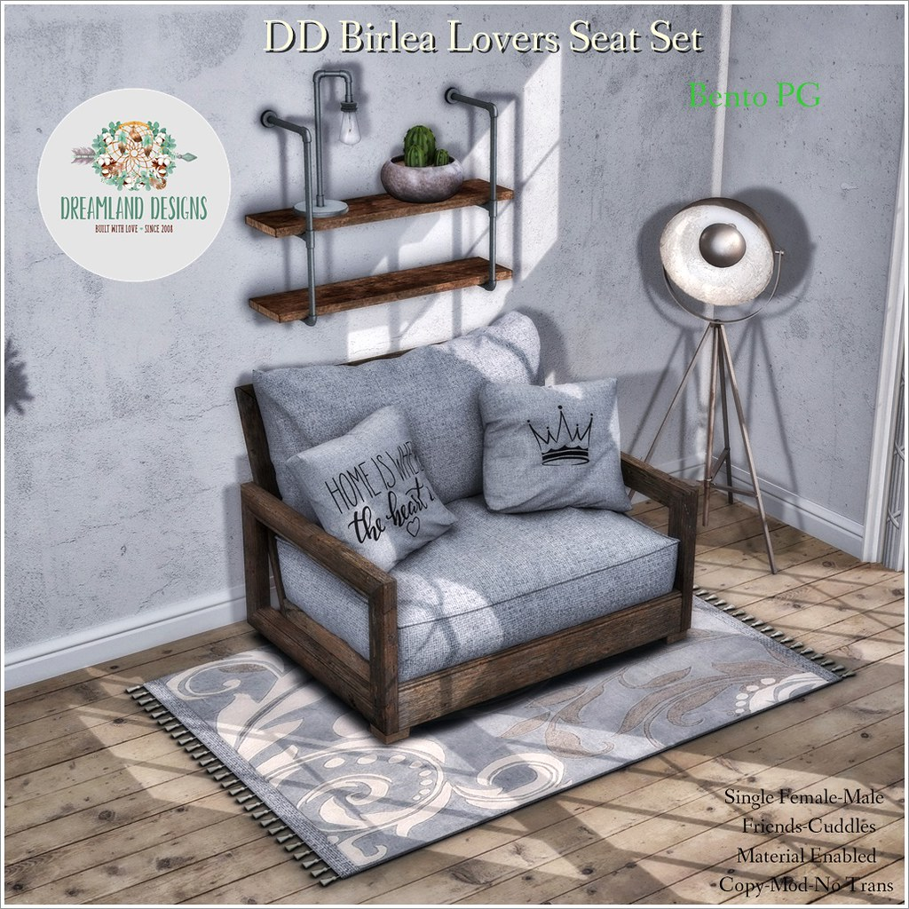 DD Birlea Lovers Seat Set-PG