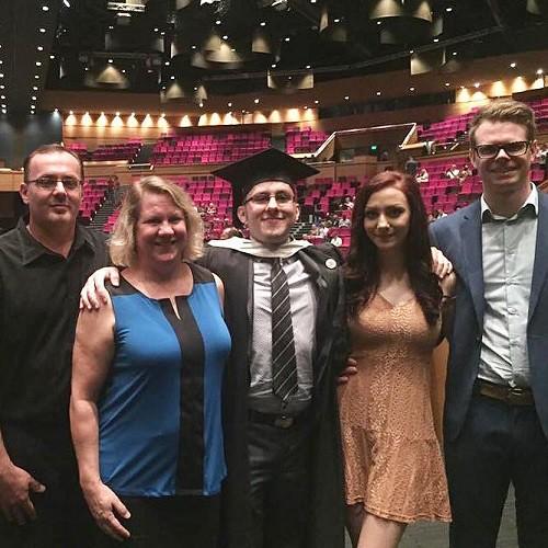 Graduation Family Photo - Copy