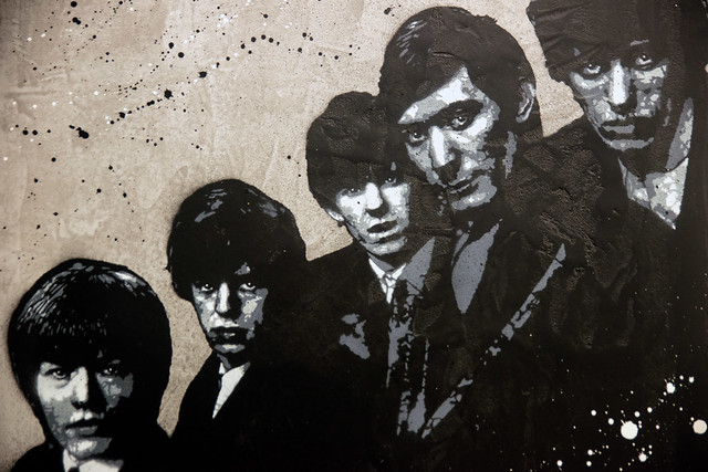 Jef Aerosol : R comme Rolling Stones