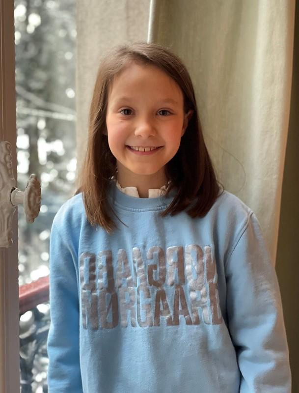 9e verjaardag Prinses Athena van Denemarken