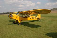 G-HEWI Piper L-4J [12566] Popham 090809