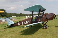 G-EMSY de Havilland DH-82A Tiger Moth [83666] Popham 090809