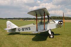 G-BYKS Leopolodd L.6 [129] Popham 090809 (now F-AZVF)