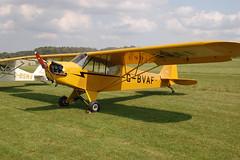 G-BVAF Piper J-3C-85 [4645] Popham 090809