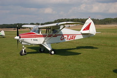 G-TJAY Piper PA-22-135 [22-730] Popham 090809