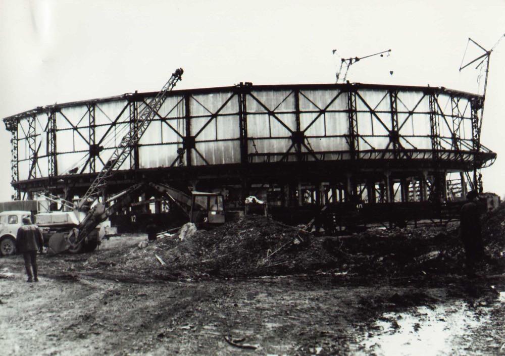 7 Строительство градирни № 1 Комсомольской ТЭЦ-3 (1986 г.)