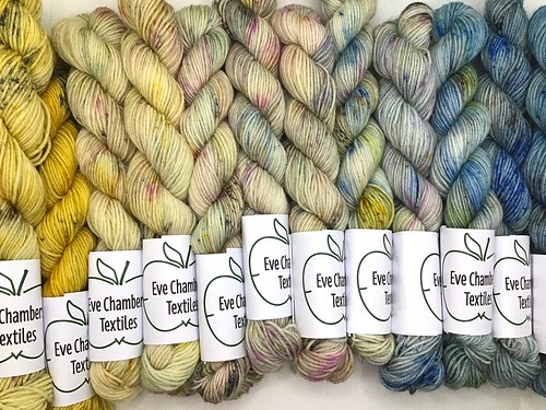Eve Chambers Textiles Sunrise Mini Skein Set 2