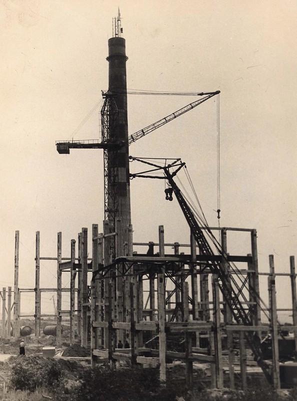 4 Строительство Амурской ТЭЦ-1 (1962 г.)