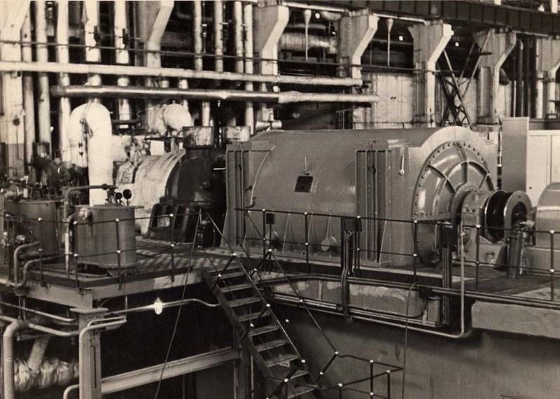 3 Турбогенератор № 1 Амурской ТЭЦ-1 (1966 г.)