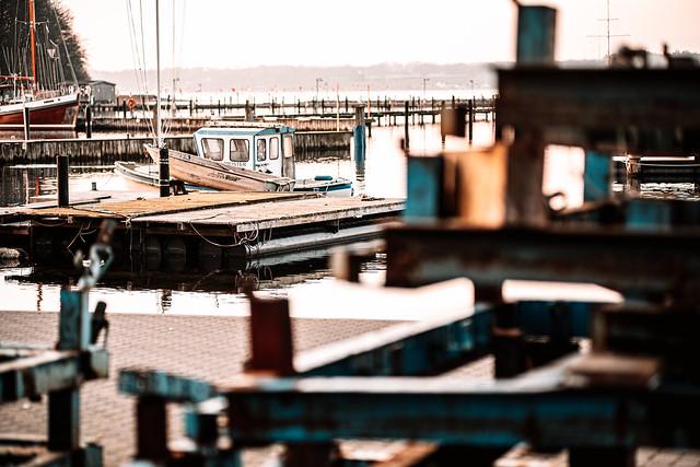 Hafen in Glücksburg