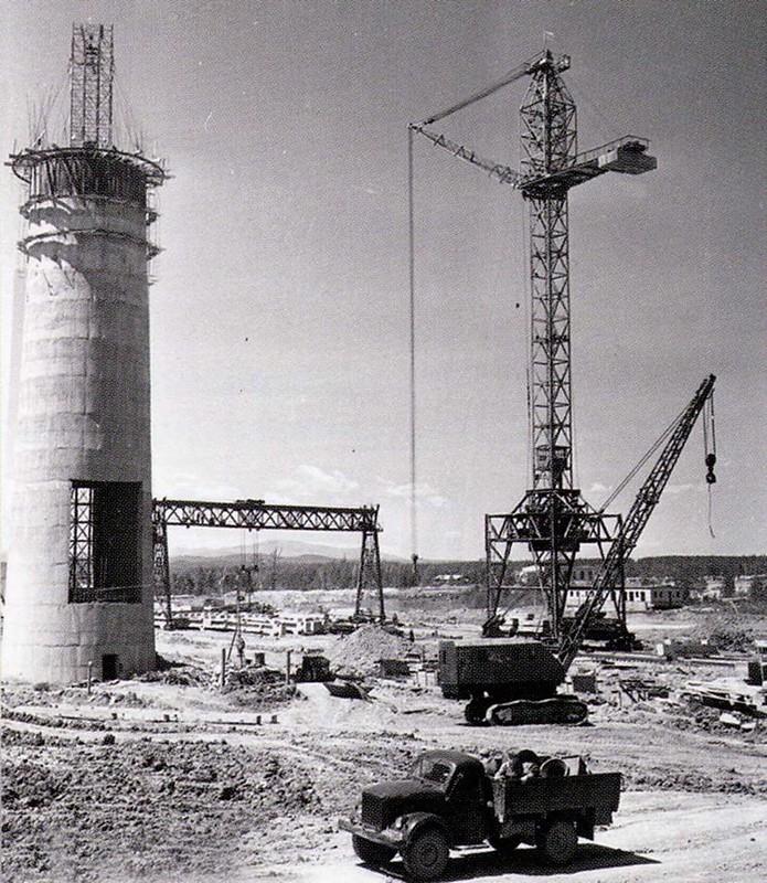 5 На строительстве Амурской ТЭЦ (1963 г.)