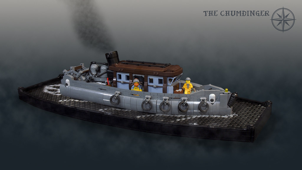 The Chumdinger - Paddle Steamer Tugboat