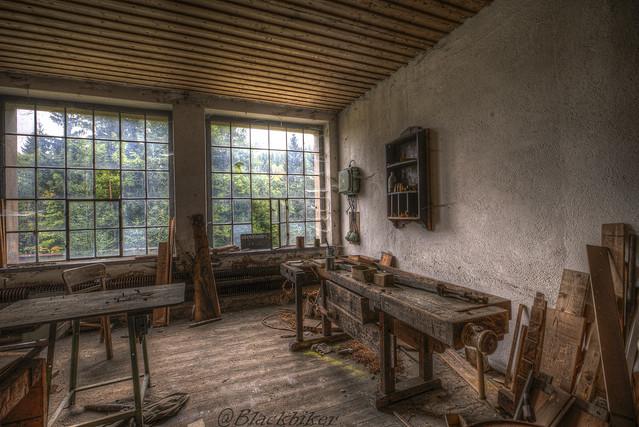Die alte Holzwerkstatt