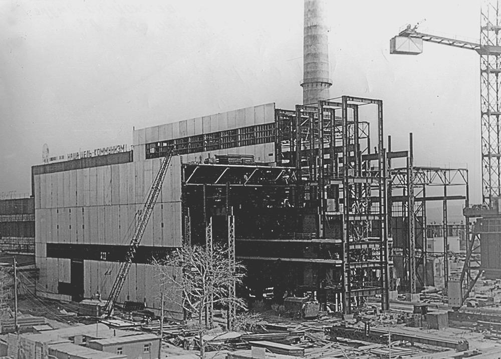 4 Строительство 2-й очереди Николаевской ТЭЦ (1983 г.)