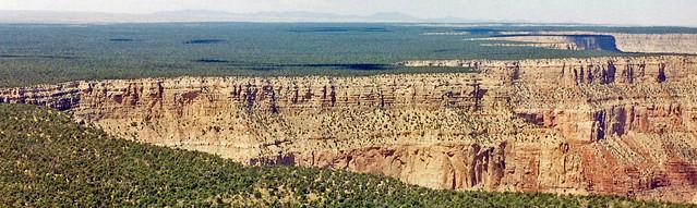 Where the Earth Drops Away, Grand Canyon Rim 2004