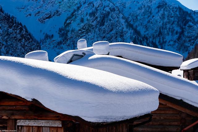 Materassi e cuscini di neve/snow mattresses and pillows