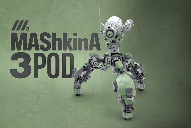 Lego MAShkinA 3POD - atana studio