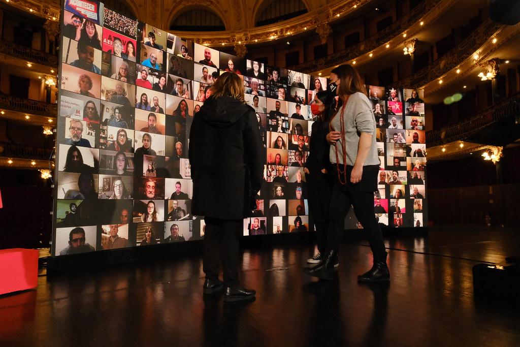 Comício virtual Marisa Matias; Braga, Jan 2021