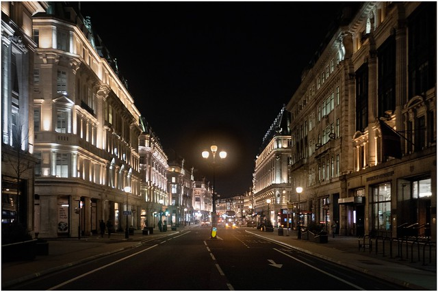 Lockdown on Regent Street