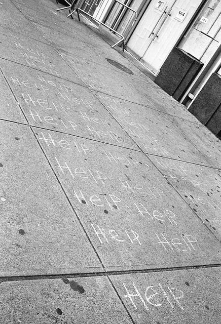 Sidewalk Chalk - Help