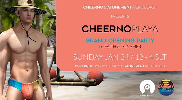 CheerNo|Playa PARTY