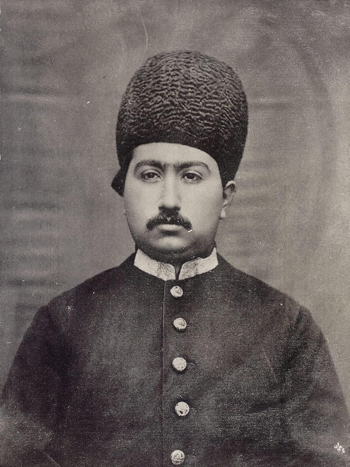 Мухаммед-Али шах в бытность наследником иранского престола