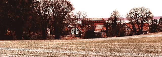 Heere near Goslar with the Bierbaumsmühle