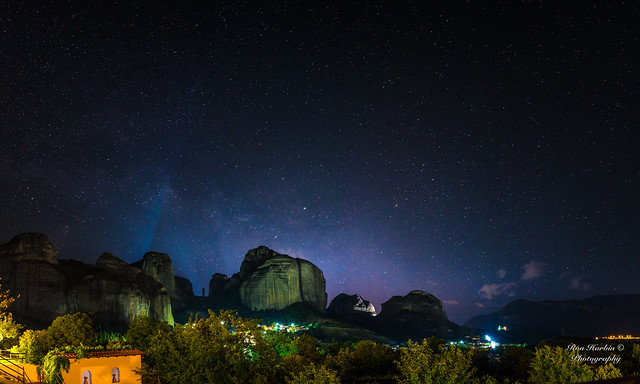 Meteora Aglow