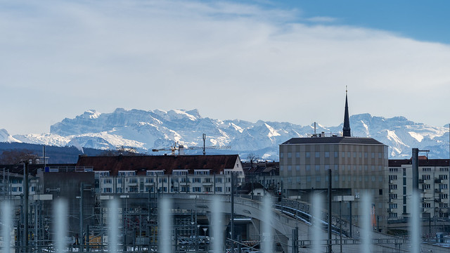 Weekend in Zurich: mountains in snow (2/3)