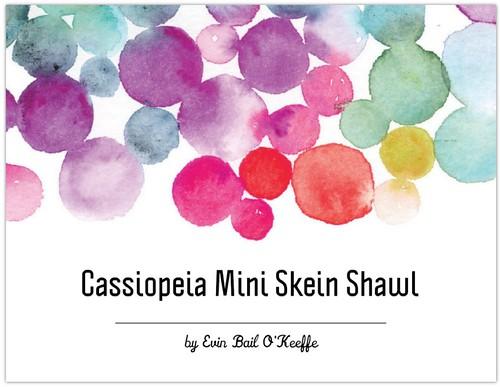 Cassiopeia Mini Skein Shawl