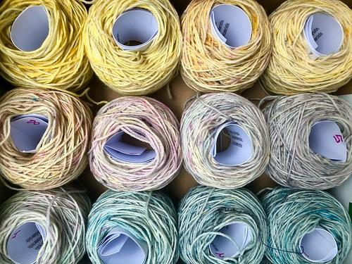 Eve Chambers Textiles Sunrise Mini Skein Set 1