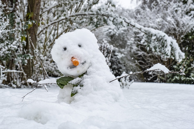 Not fit even for Snowmen to be out!…….