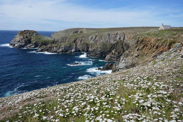 Le rocher Morgane, pointe du Van, Cléden-Cap-Sizun, Finistère, Bretagne, France.