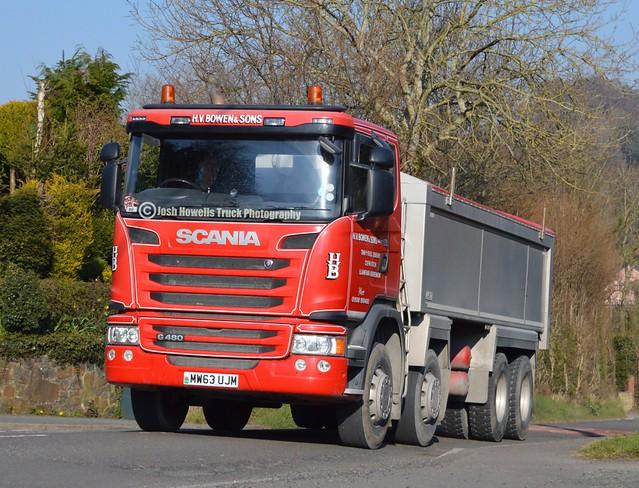 H V Bowens MW63 UJM At Llanfair Caereinion