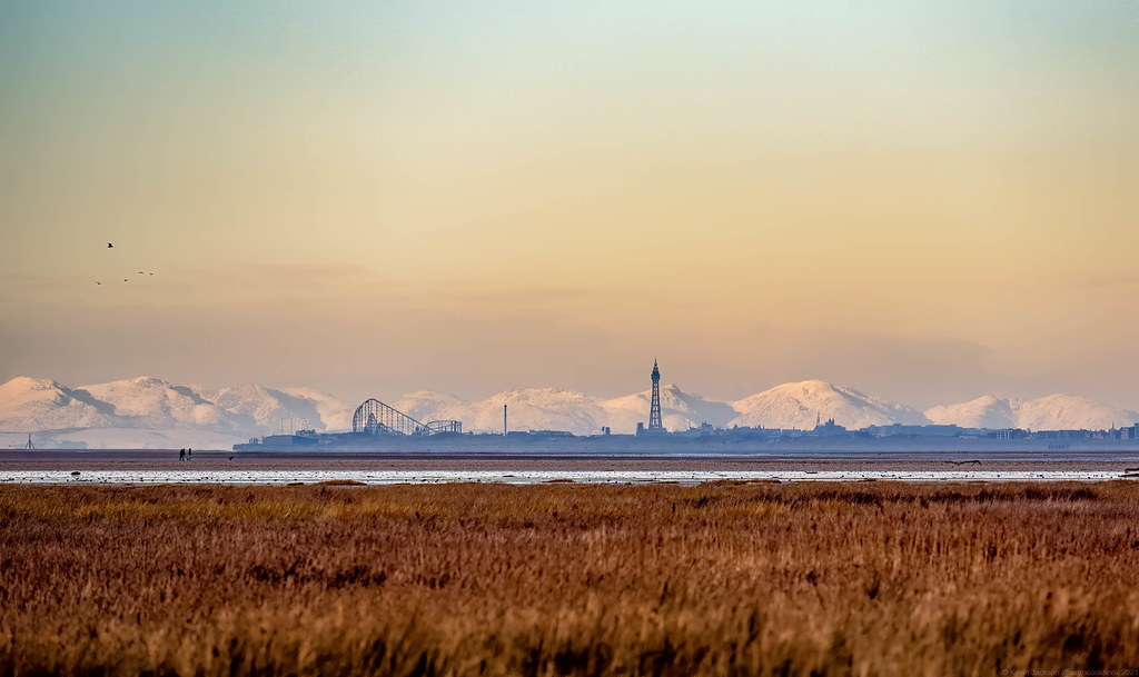 Blackpool and The Lakes from Southport {Available To Purchase - See Comments}, 24th January 2021