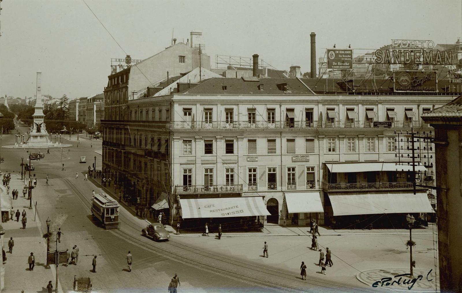 Rua 1º de Dezembro, Lisboa (E.Portugal, c. 1952)