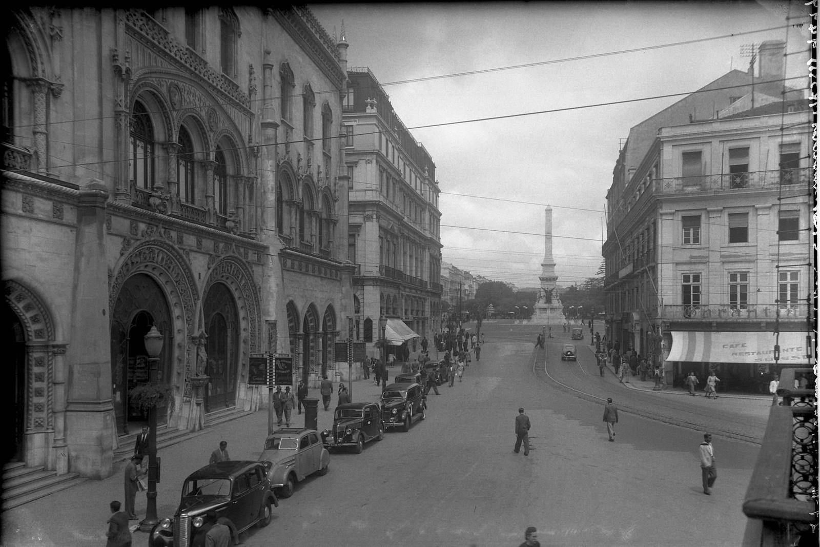 Rua 1º de Dezembro, Lisboa (E.Portugal, 1943)