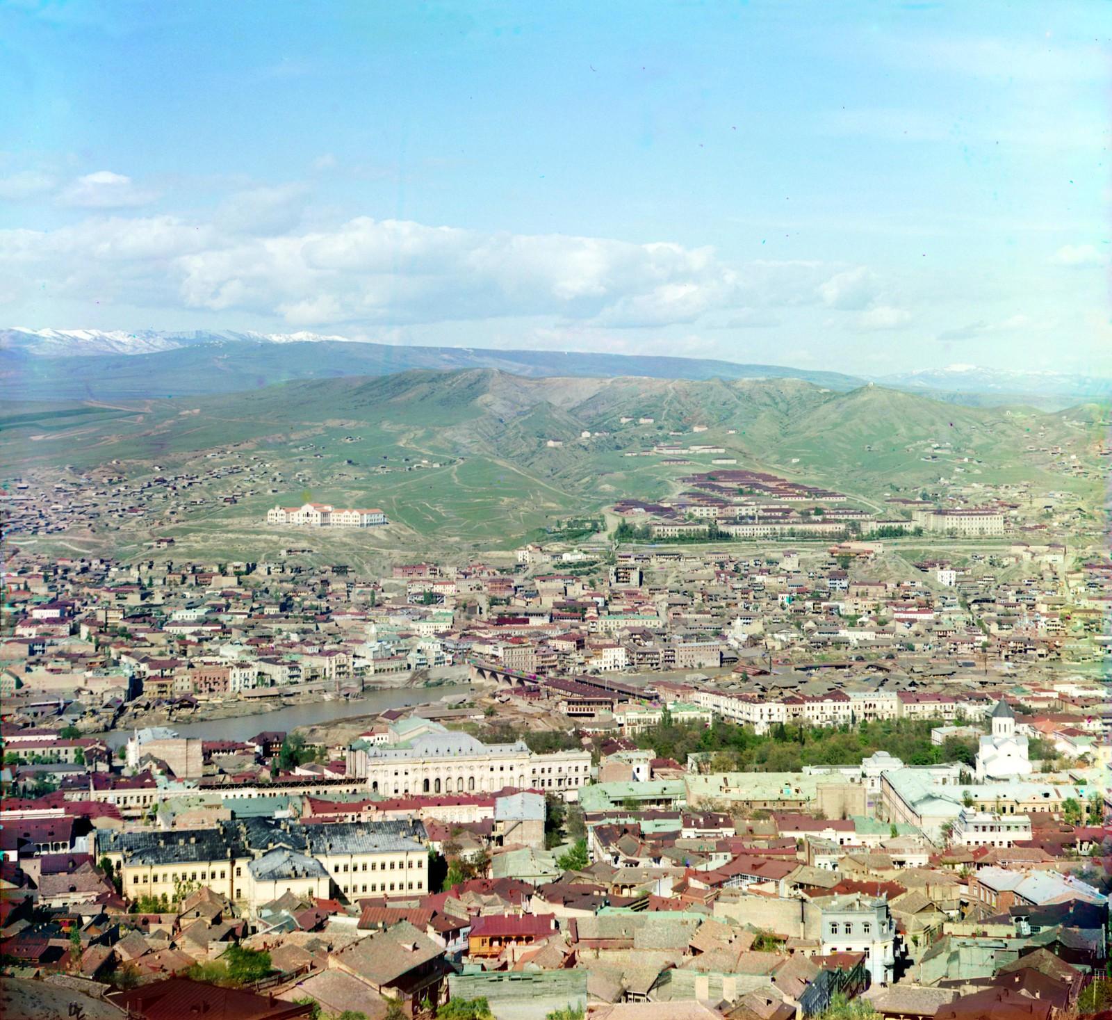 Западная часть Тифлиса