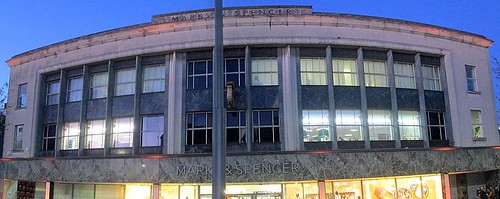 Marks and Spencer, Sunderland, Art Deco