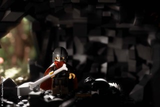 Ranger in a cave | by Foolish Bricks