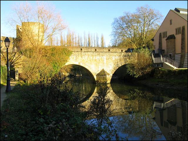 Bridge over the Alzette, Luxembourg