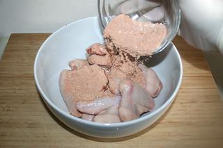 08 - Add seasoning mix / Gewürzmischung dazu geben