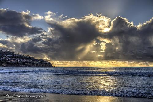 torrancebeach torrance california southerncalifornia beach clouds sunset stormclouds