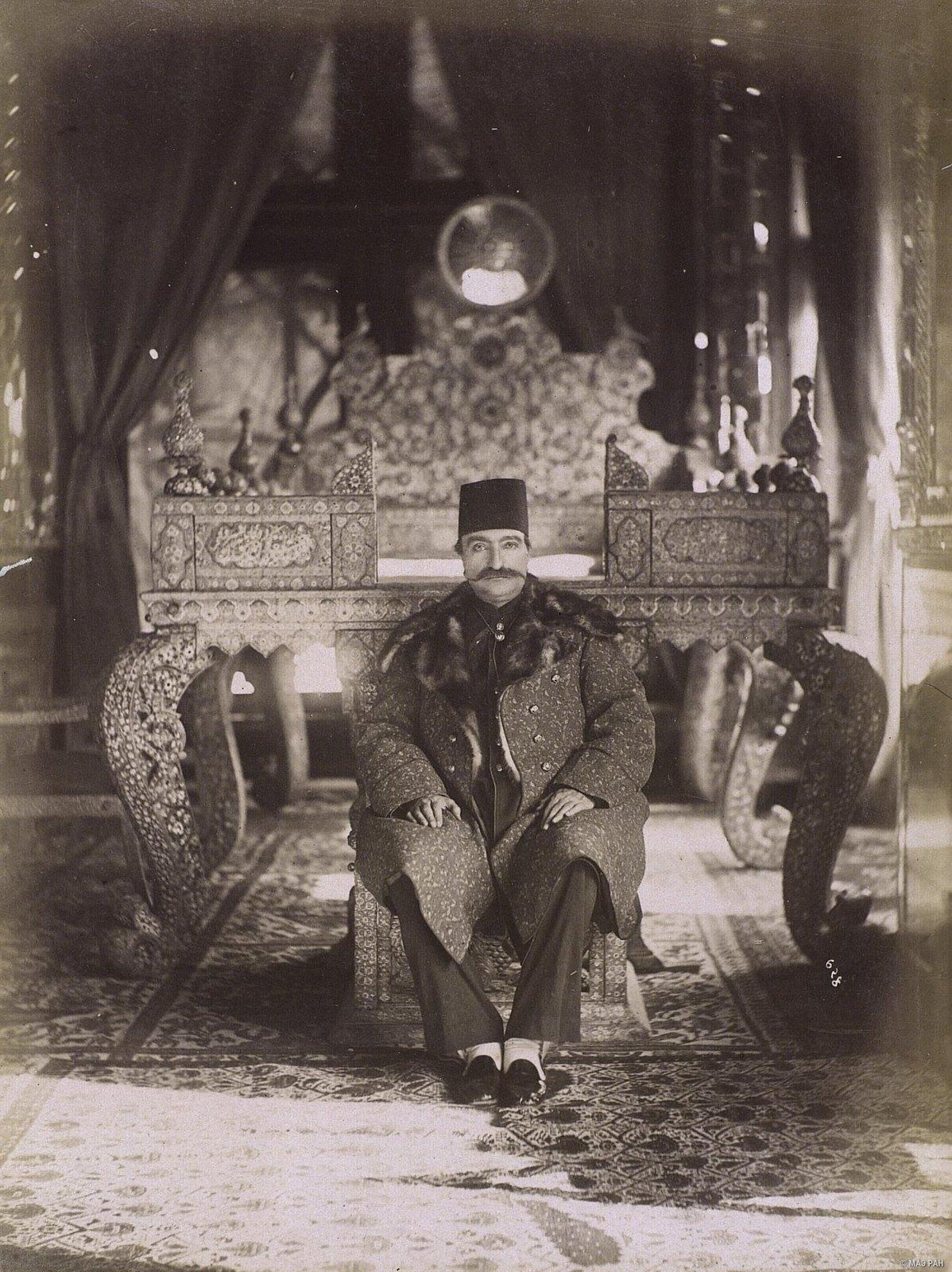 Насреддин шах (убит в 1896)
